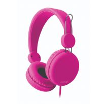 HÖRLURAR MAXELL SPECTRUM, ROSA, ON-EAR + MIC