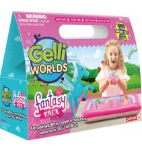 GELLI WORLDS FANTASY PACK 75g