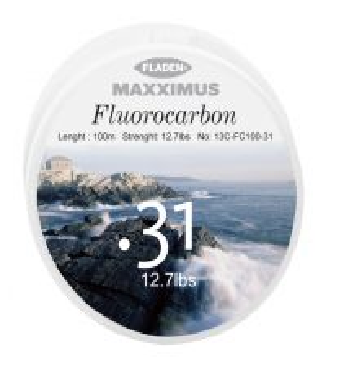 FLUORCARBONLINA MAXXIMUS 100 M 0,31 MM 12,7 LBS
