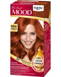 MOOD HAIR COLOR 32 INTENSE COPPER
