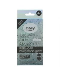 SENCEBEAUTY FACE MASK PEEL-OFF HOLOGRAFIC GLITTER