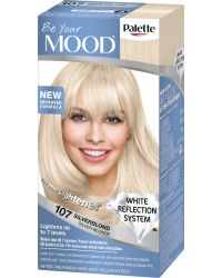 MOOD HAIR COLOR 107 SILVER BLONDE