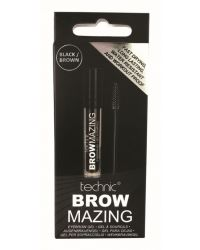 TECHNIC BROWMAZING EYEBROWGEL BRUN-SVART