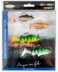 SOFTLURE PEARCH ROACH RUDD 4 PACK