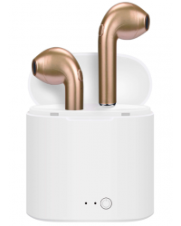 LEDWOOD Hörlur True Wireless In-Ear Guld Mic
