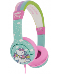 HELLO KITTY Hörlur Junior On-Ear Grön/Enhörning