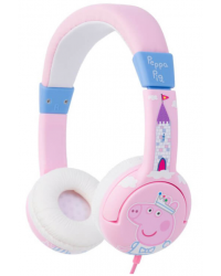PEPPA PIG Hörlur Junior On-Ear Prinsessan Peppa