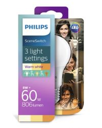 PHILIPS LED SCENESWITCH 60W A60 E27