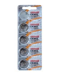 MAXELL CR2016, 5-PACK
