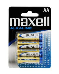 MAXELL LR06 AA, 4-PACK