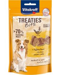 TREATIES BITS MED FÅGEL 120G