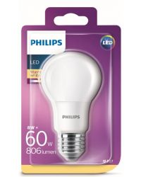 PHILIPS LED NORMAL 60W E27 FROSTAD