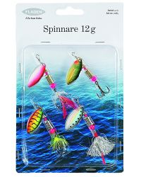 SPINNARE 4 PACK 12 G