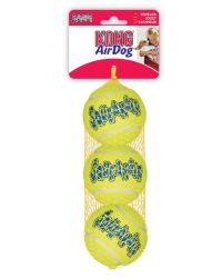 AIR KONG SQUEAKER BALL MEDIUM 6CM 3 ST