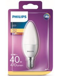 PHILIPS LED KRON 40W E14 FROSTAD