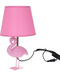 BORDSLAMPA FLAMINGO ROSA