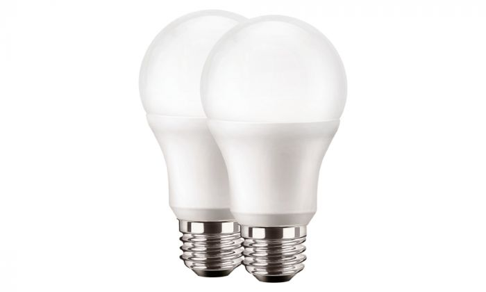 LUMIERE 2-PACK LED NORMAL 60W E27 FROSTAD