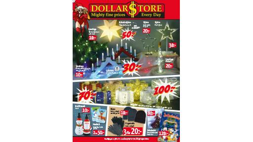 Dollarstore låga priser varje dag i butik och online!