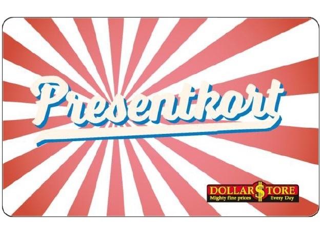 Dollarstore - Presentkort